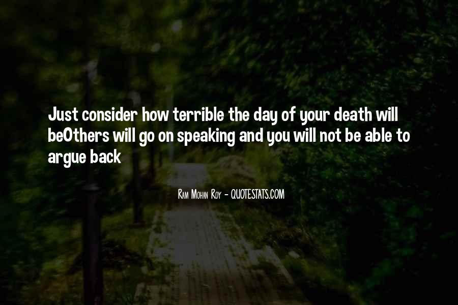 Don't Argue Quotes #14494