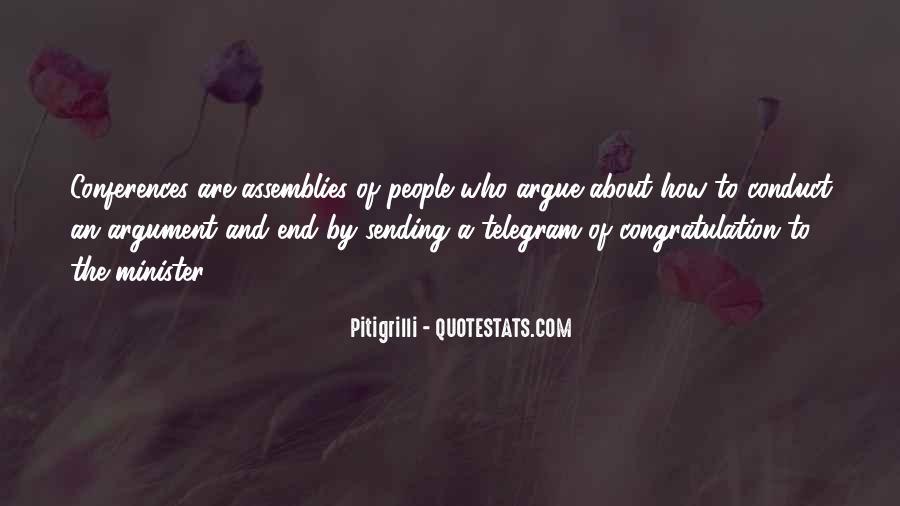 Don't Argue Quotes #66332