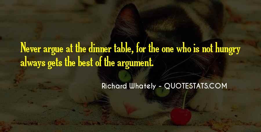 Don't Argue Quotes #93449