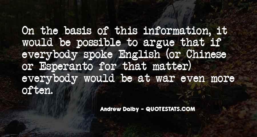 Don't Argue Quotes #9638