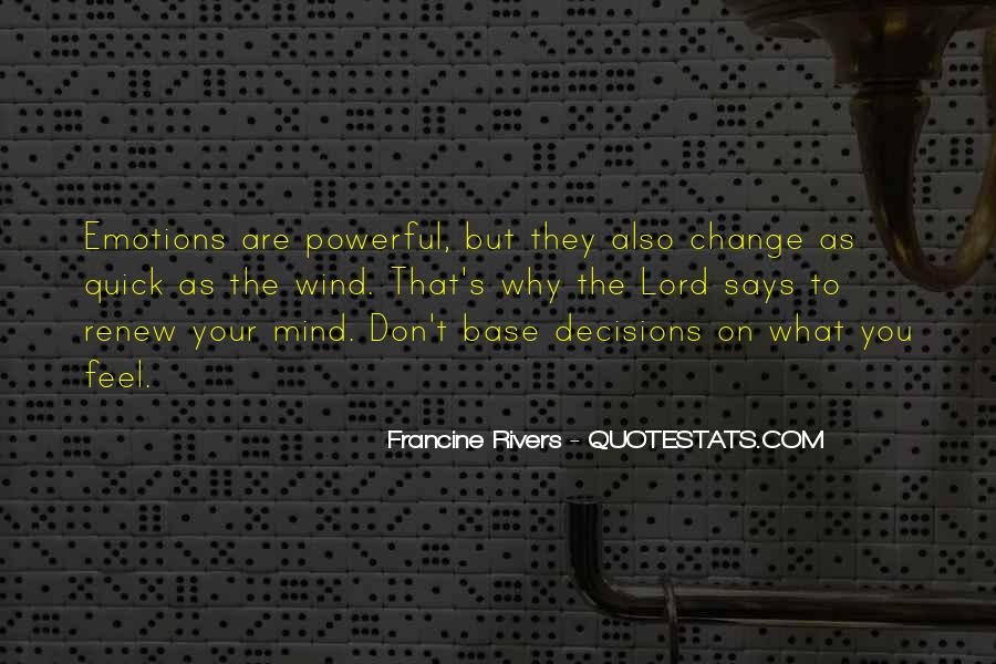 Don't Change Your Mind Quotes #1716936