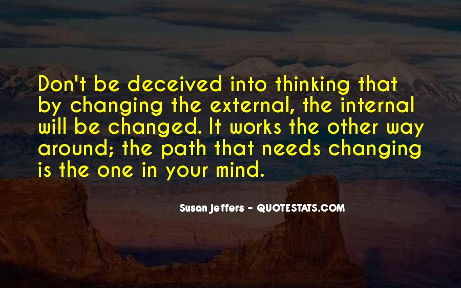 Don't Change Your Mind Quotes #270006