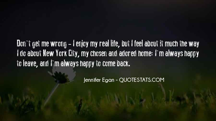 Don't Come Back To My Life Quotes #127571