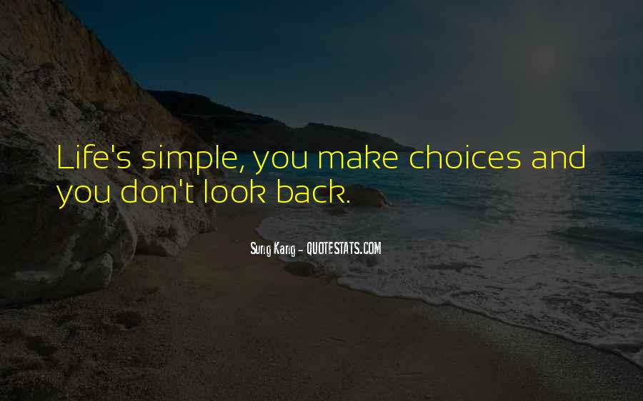 Don't Come Back To My Life Quotes #132484