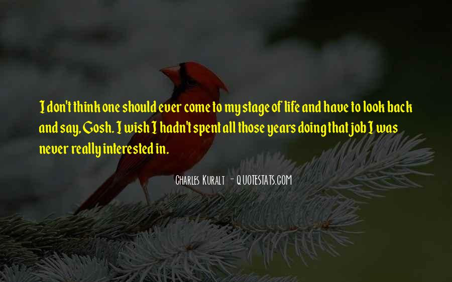 Don't Come Back To My Life Quotes #1875302