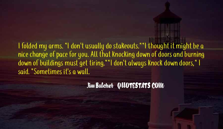 Don't Come Knocking Quotes #1065281