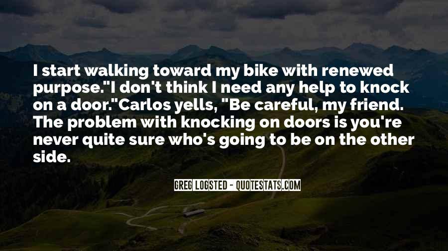 Don't Come Knocking Quotes #1110986
