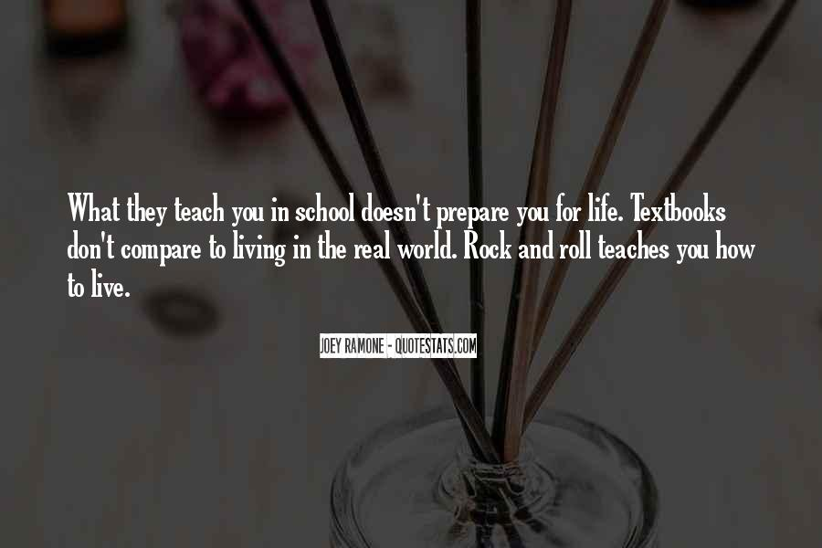 Don't Compare Your Life Quotes #713966