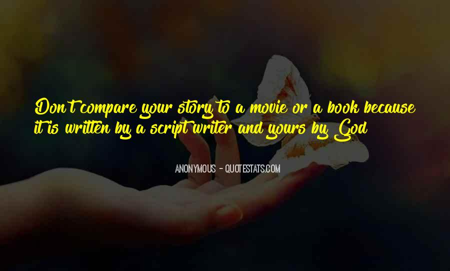 Don't Compare Your Life Quotes #84945