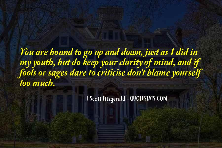 Don't Criticise Others Quotes #102345