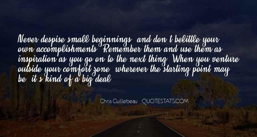 Don't Despise Quotes #1436545