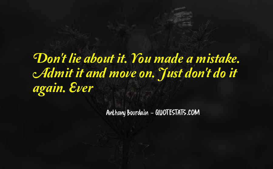 Don't Do It Again Quotes #156274