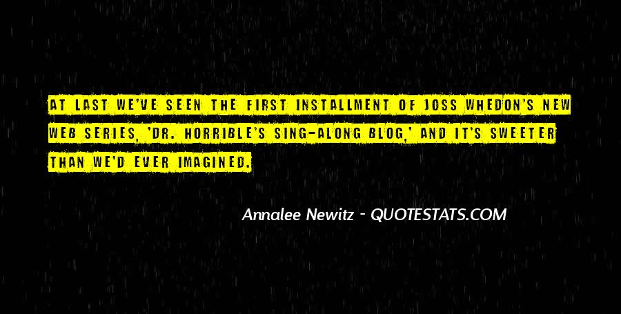 Quotes About Installment #327173