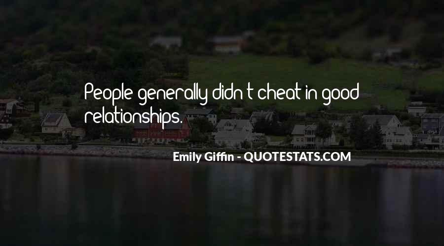 Don't Ever Cheat Quotes #158141