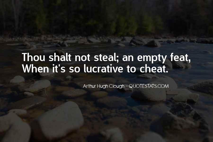 Don't Ever Cheat Quotes #16475