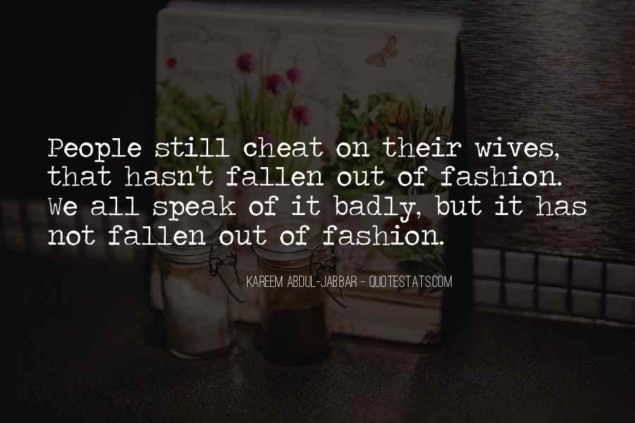 Don't Ever Cheat Quotes #251955