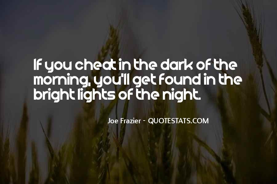 Don't Ever Cheat Quotes #271719