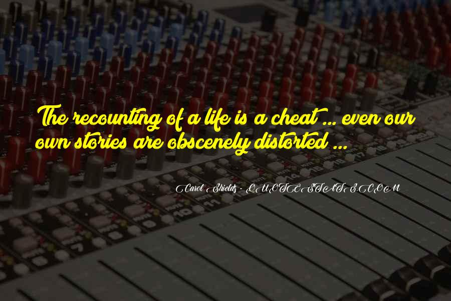 Don't Ever Cheat Quotes #37014