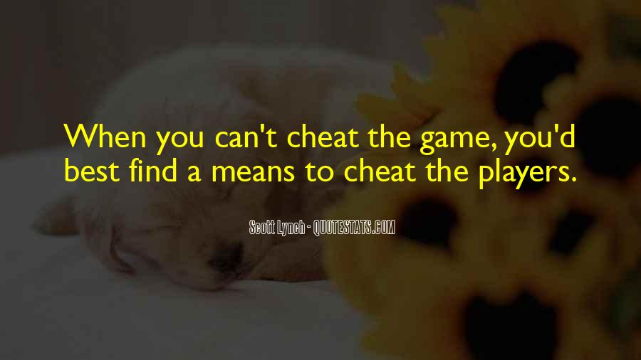 Don't Ever Cheat Quotes #91636