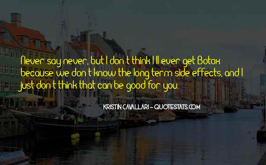 Don't Ever Say Never Quotes #1474786