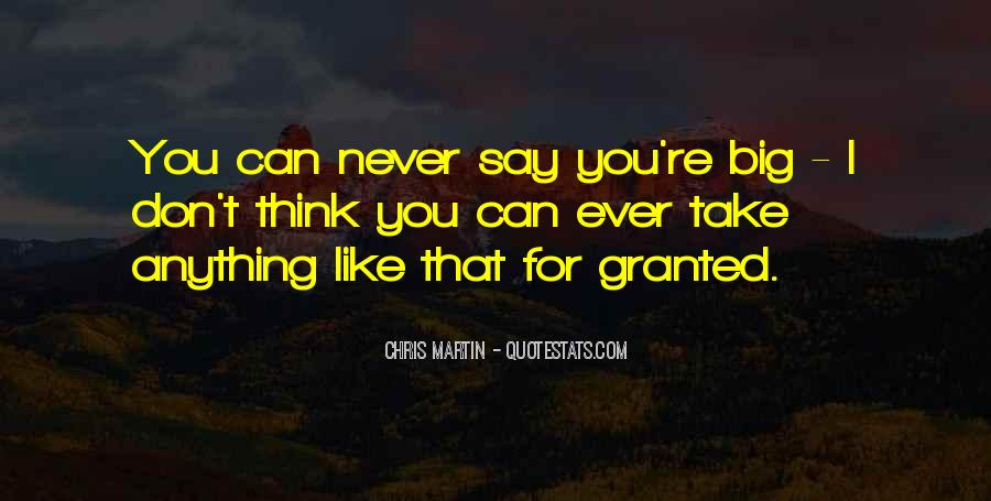 Don't Ever Say Never Quotes #1729264