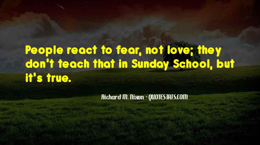 Don't Fear My Love Quotes #181433