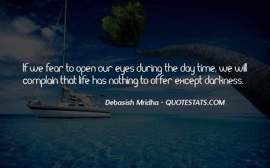 Don't Fear Nothing Quotes #1021383