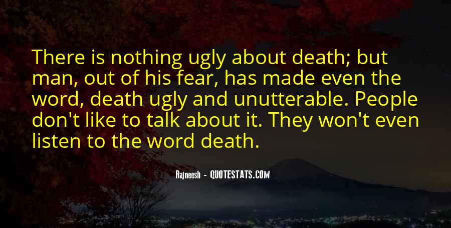 Don't Fear Nothing Quotes #23976