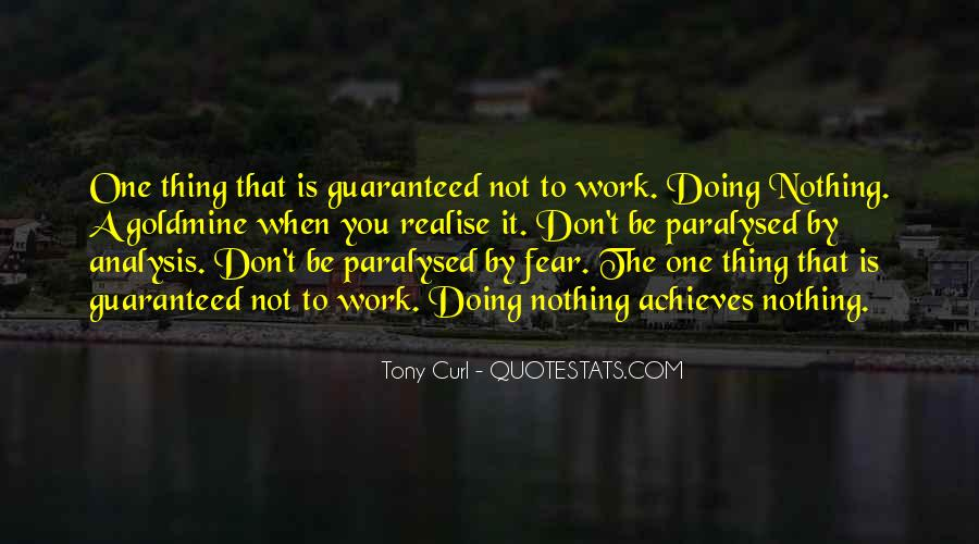 Don't Fear Nothing Quotes #56824