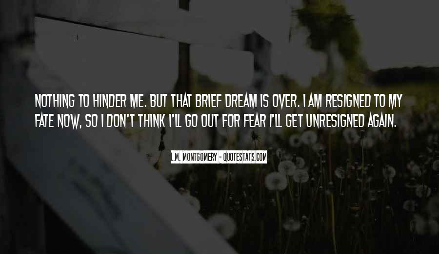 Don't Fear Nothing Quotes #86353