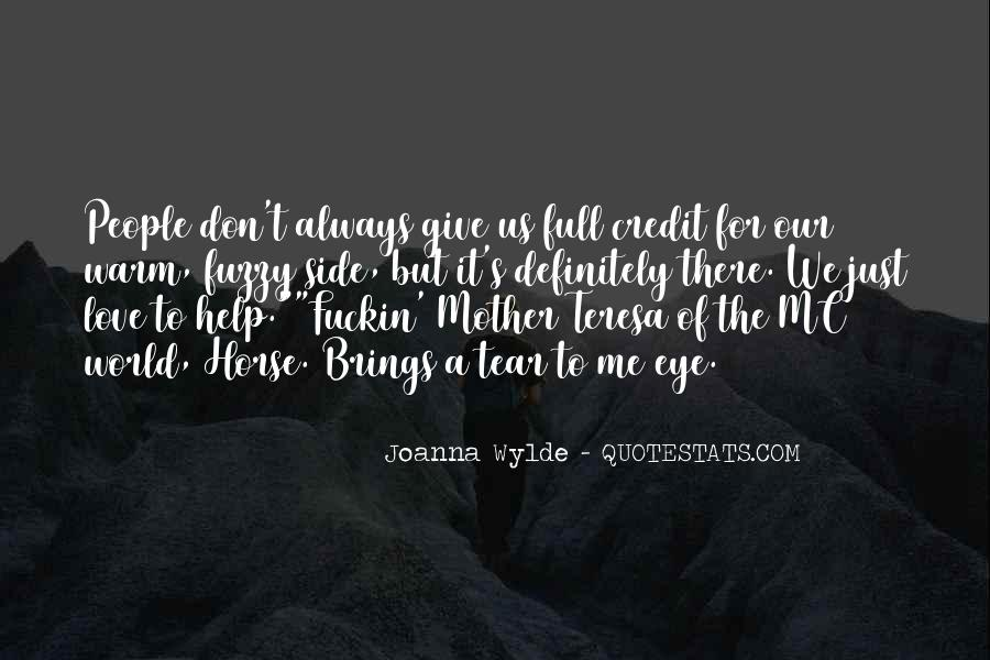 Don't Give Up On Me Love Quotes #49099