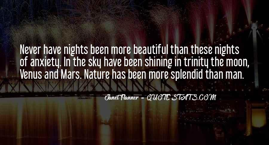 Quotes About The Moon Shining #1087468
