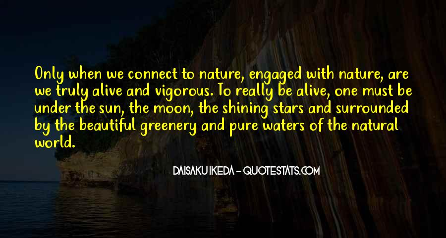 Quotes About The Moon Shining #134973