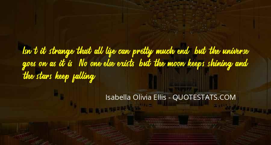 Quotes About The Moon Shining #166775