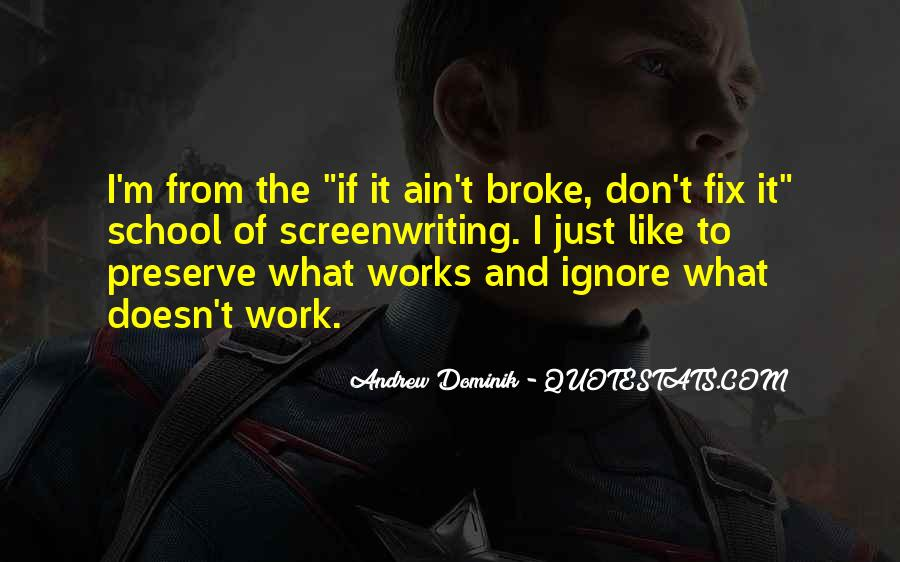 Don't Go Broke Quotes #468789