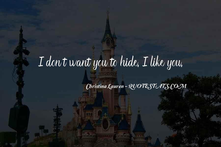 Don't Hide Quotes #343718