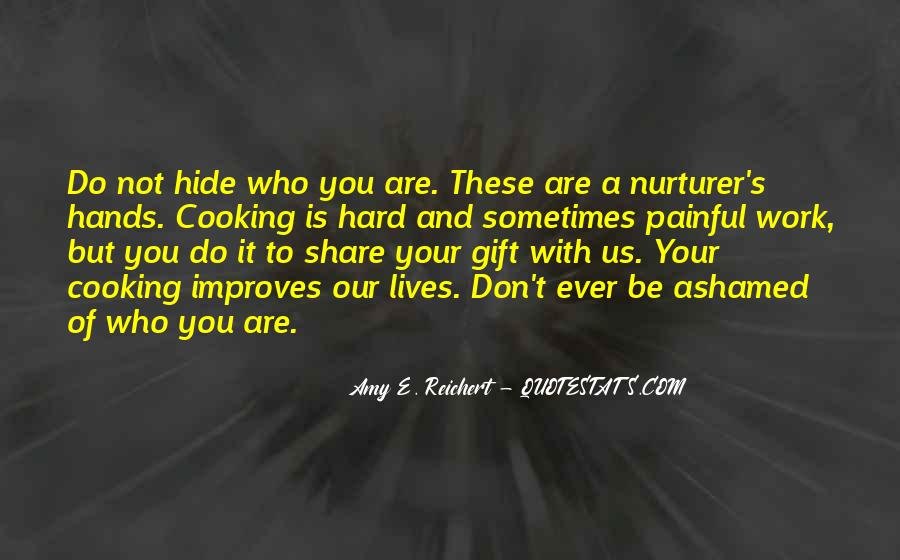 Don't Hide Your Talent Quotes #94683