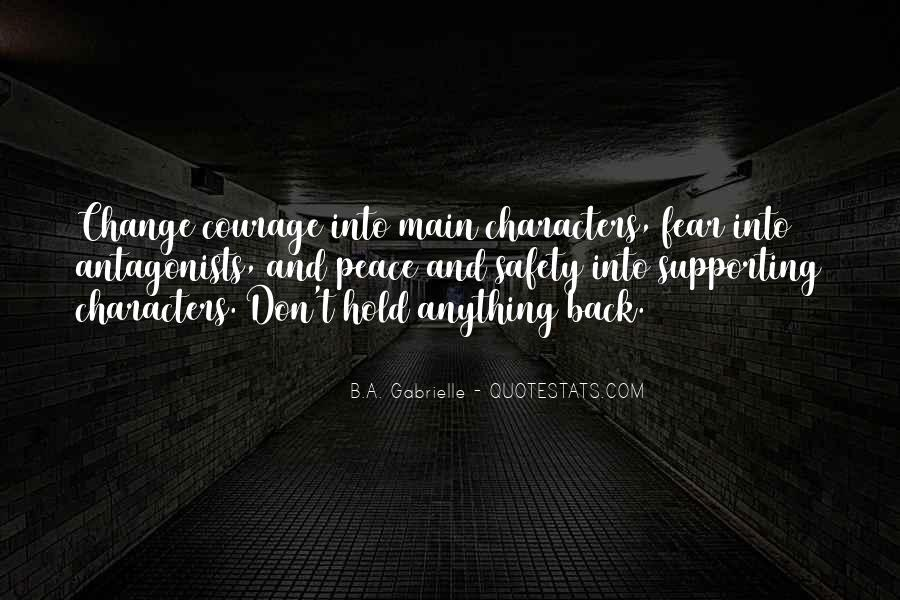Don't Hold Anything Back Quotes #1290753