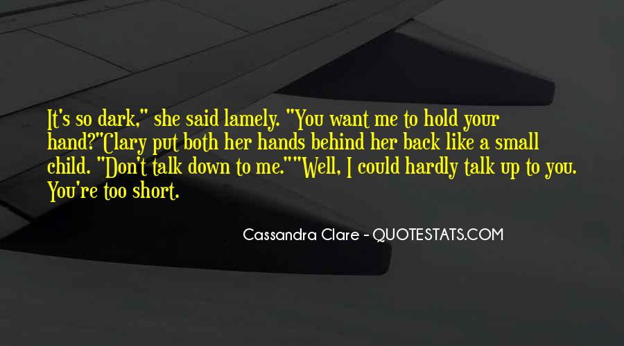Don't Hold Me Back Quotes #1024088