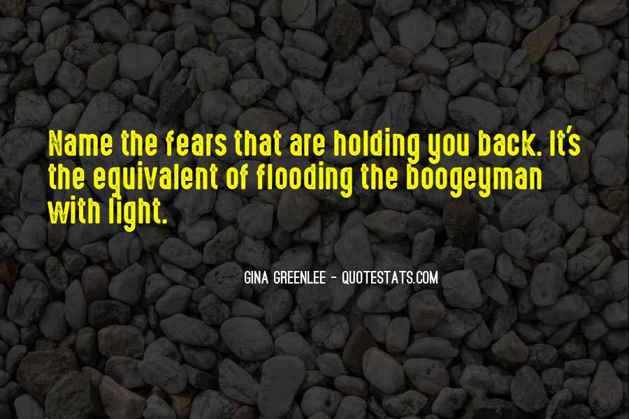 Don't Hold Me Back Quotes #1047546