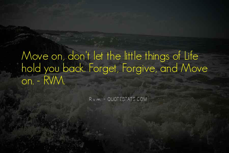 Don't Hold Me Back Quotes #1163948