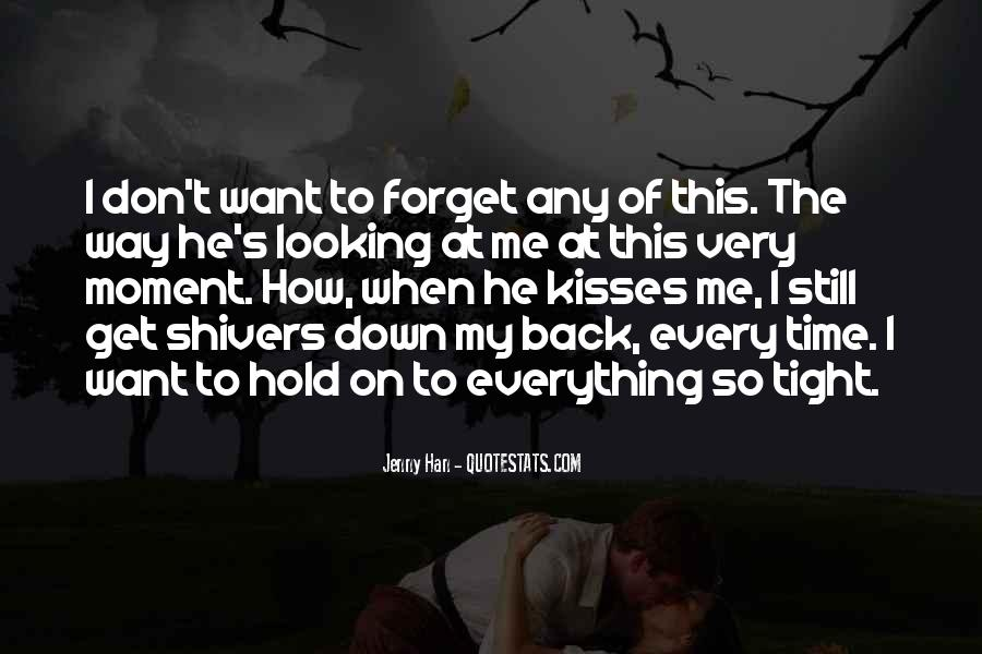 Don't Hold Me Back Quotes #1188523