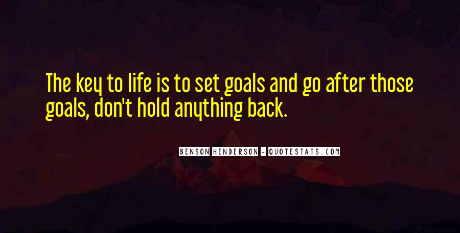Don't Hold Me Back Quotes #241240