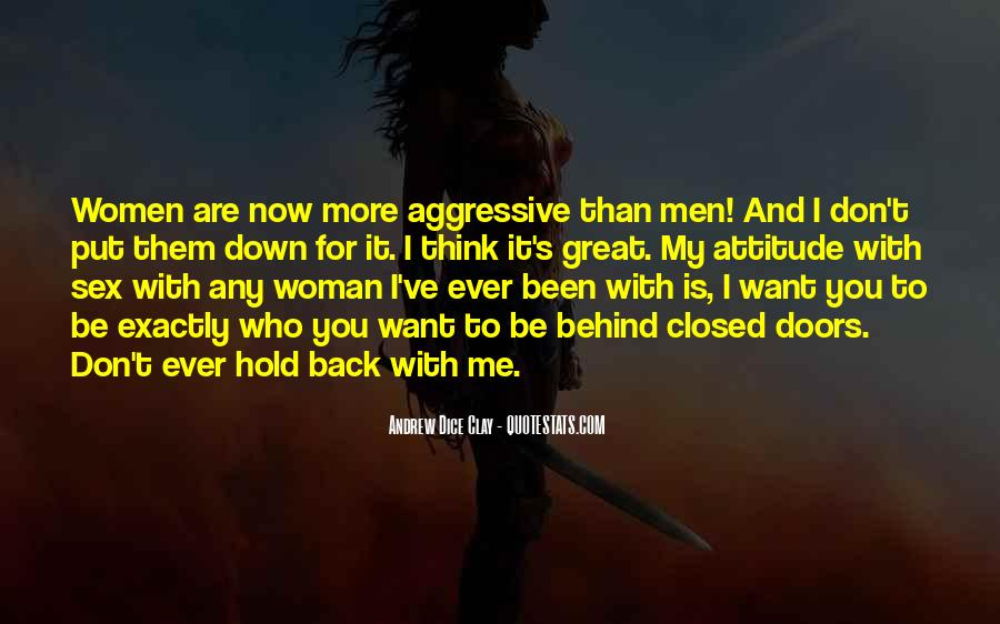 Don't Hold Me Back Quotes #275164