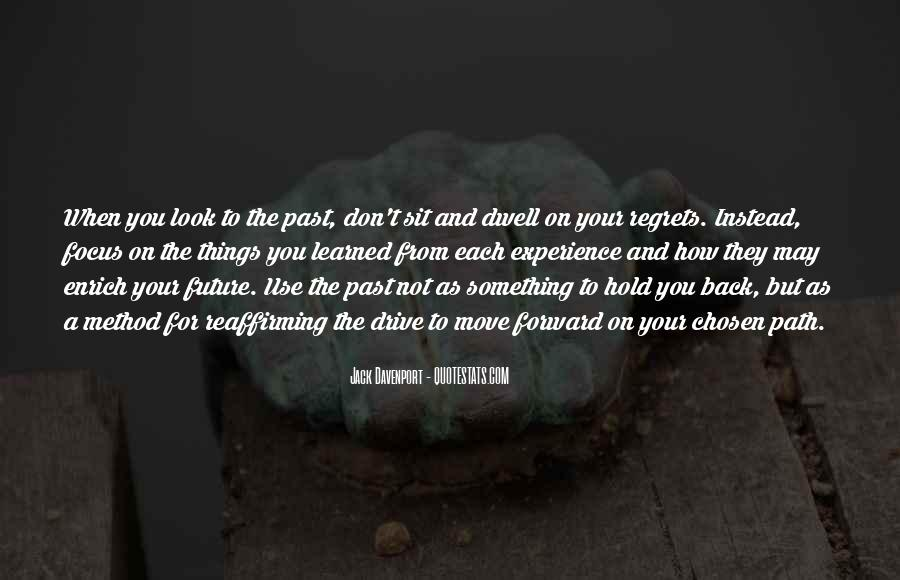 Don't Hold Me Back Quotes #542265