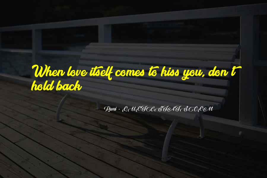Don't Hold Me Back Quotes #759714