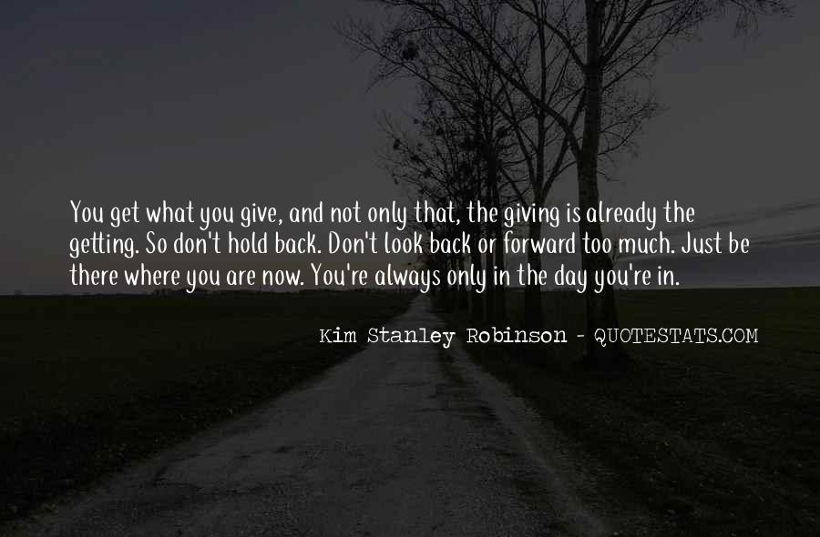 Don't Hold Me Back Quotes #878649