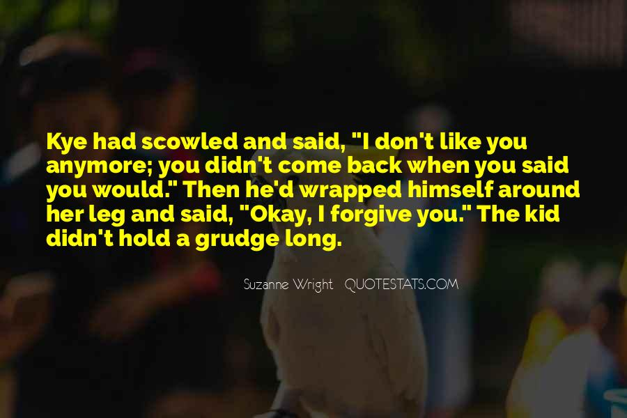 Don't Hold Me Back Quotes #90100