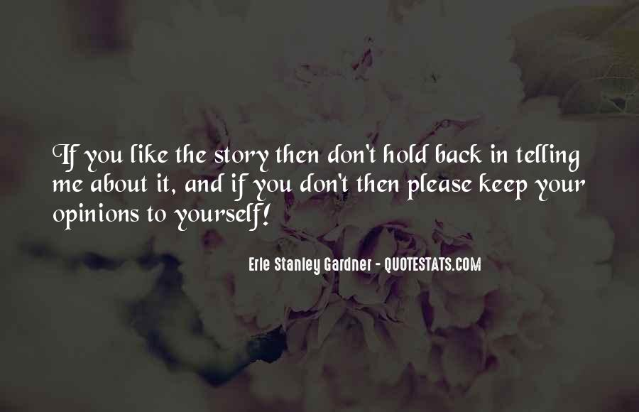 Don't Hold Me Back Quotes #943521