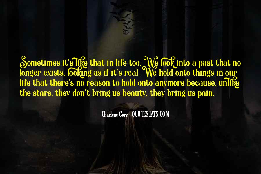 Don't Hold Onto The Past Quotes #1510751